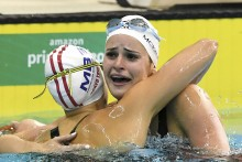 Ten Months After Losing Father, Australian Teenager Smashes 100-metre Backstroke Swimming World Record