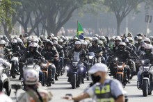 Brazil President Jair Bolsonaro Fined For Flouting Mask Rule Before Motorcyclists