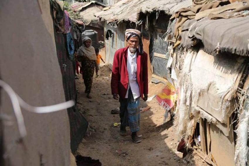 56 Shanties Housing 270 Rohingya Refugees Gutted In Blaze In Delhi