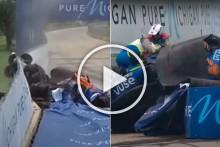 Felix Rosenqvist Hospitalised After Massive IndyCar Crash - VIDEO