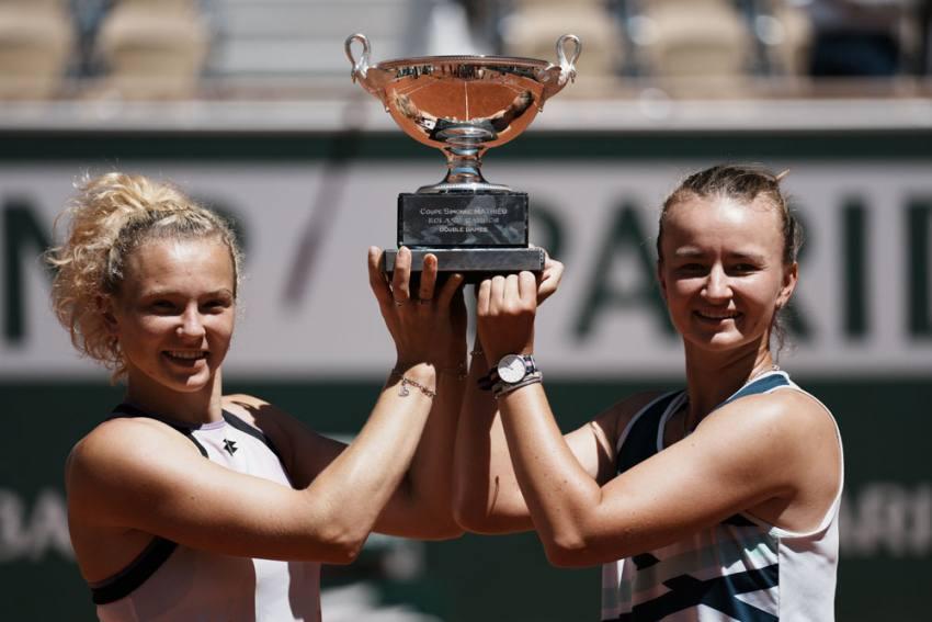 French Open: Barbora Krejcikova Completes Titles Sweep With Katerina Siniakova