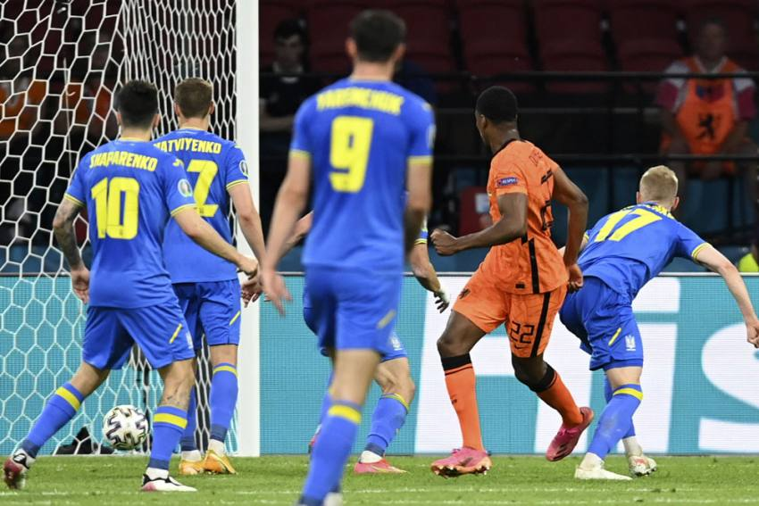 Euro 2020: Denzel Dumfries Scores As Netherlands Tops Ukraine In Thriller