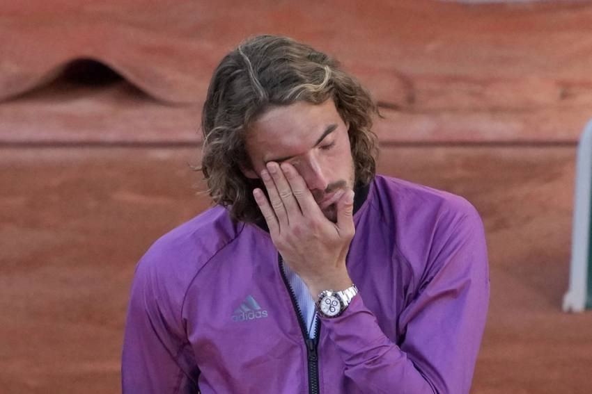 Stefanos Tsitsipas Says His Grandmother Died Just Before French Open Final Against Novak Djokovic