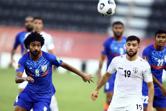 FIFA World Cup Qualifiers: India In Asian Cup Qualifying 3rd Round After Draw With Afghanistan - HIGHLIGHTS