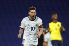 Lionel Messi Scores Via Stunning Free Kick As Argentina Held To 1-1 Draw By Chile - Watch Video Here