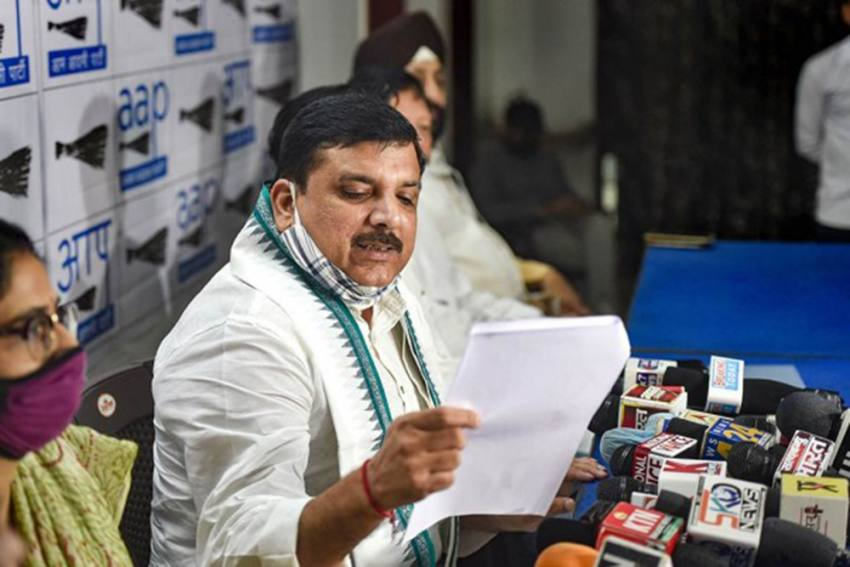 Ayodhya Land Deal: AAP MP Sanjay Singh Claims House 'Attacked' By BJP Supporters