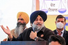 SAD Chief Sukhbir Singh Badal Detained During Protest Outside Punjab CM's Residence