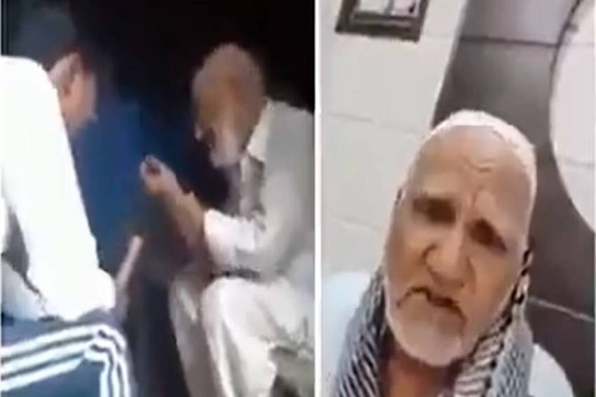 Elderly Man Says 'Beaten, Forced To Chant Jai Shri Ram' In UP; Video Goes Viral