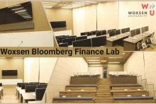 The Iconic  Bloomberg Finance Lab Arrives At Woxsen University, Hyderabad