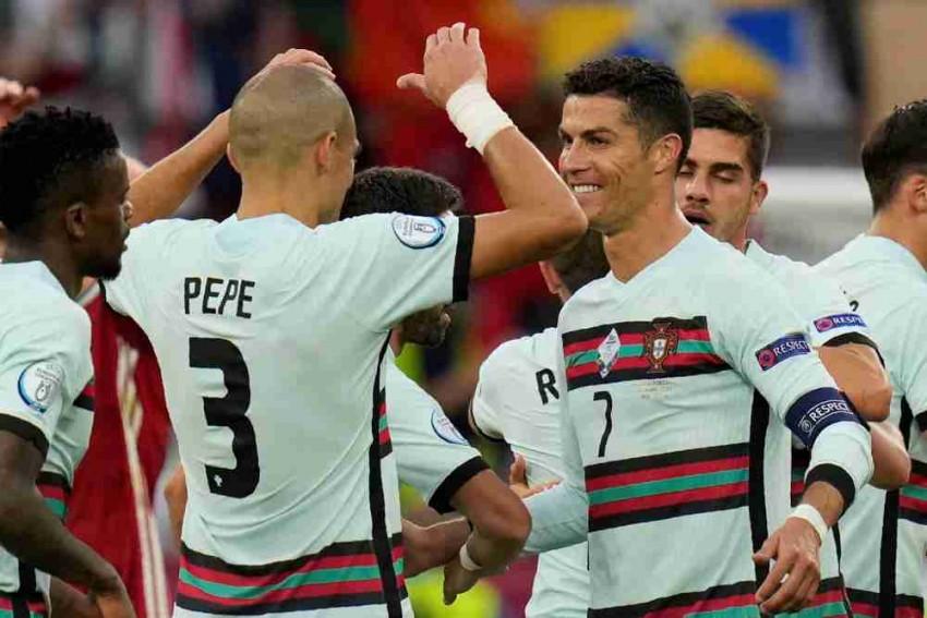 Euro 2020: Record-setting Cristiano Ronaldo Scores Two, Portugal Beat Hungary 3-0