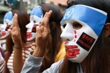 9,000 People Including CM Of Myanmar's Chin State Take Refuge In Mizoram