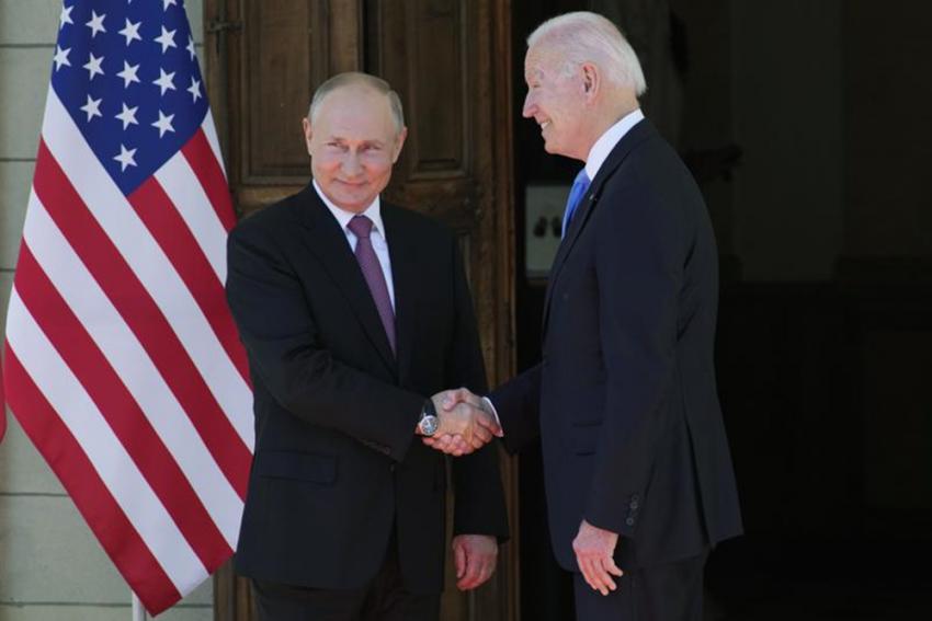 Vladimir Putin Says No Hostility In Meeting With Joe Biden