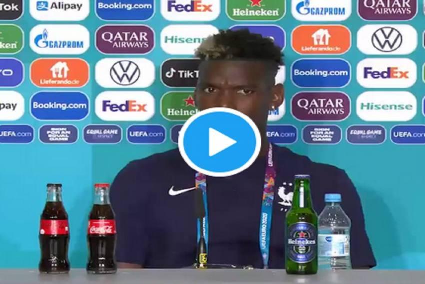 After Cristiano Ronaldo, France's Paul Pogba Snubs Euro 2020 Sponsor Heineken - Watch Video Here