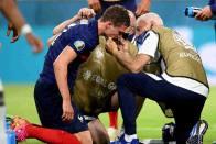 Euro 2020: France's defender Benjamin Pavard Felt Knocked Out After Challenge From Germany's Robin Gosens