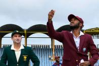 WI Vs Sa, 2nd Test, Day 1: Dean Elgar's 77 Take South Africa To 218/5 - Highlights