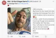 Christian Eriksen Released From Hospital After 'Successful' Operation