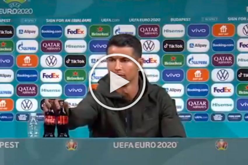 UEFA Asks Euro 2020 Teams To Stop Removing Sponsor Bottles