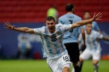 Copa America: Guido Rodriguez Strike Helps Argentina Beat Uruguay 1-0