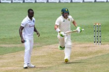 WI vs SA, 2nd Test, Day 1: Dean Elgar's 77 Leads South Africa To 218-5 Against West Indies