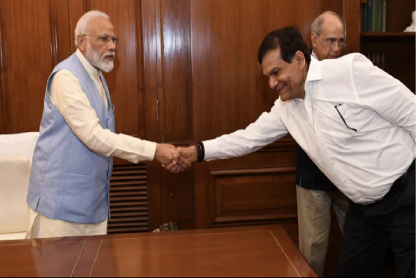 PM's Aide AK Sharma Made UP BJP Vice President