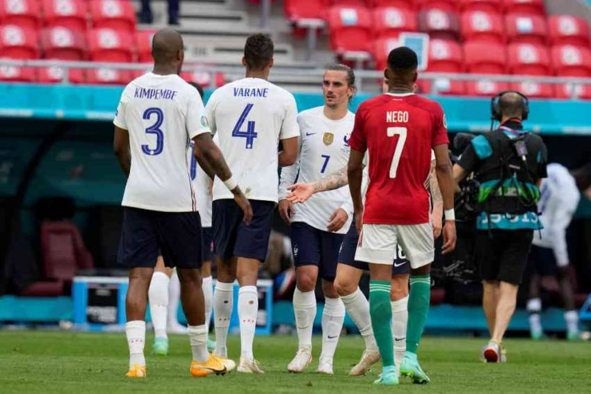Euro 2020: Antoine Griezmann Strike Helps France Draw Against Hungary