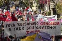 As Brazil's Covid Death Toll Breaches 500K Mark, Protests Erupt Against President