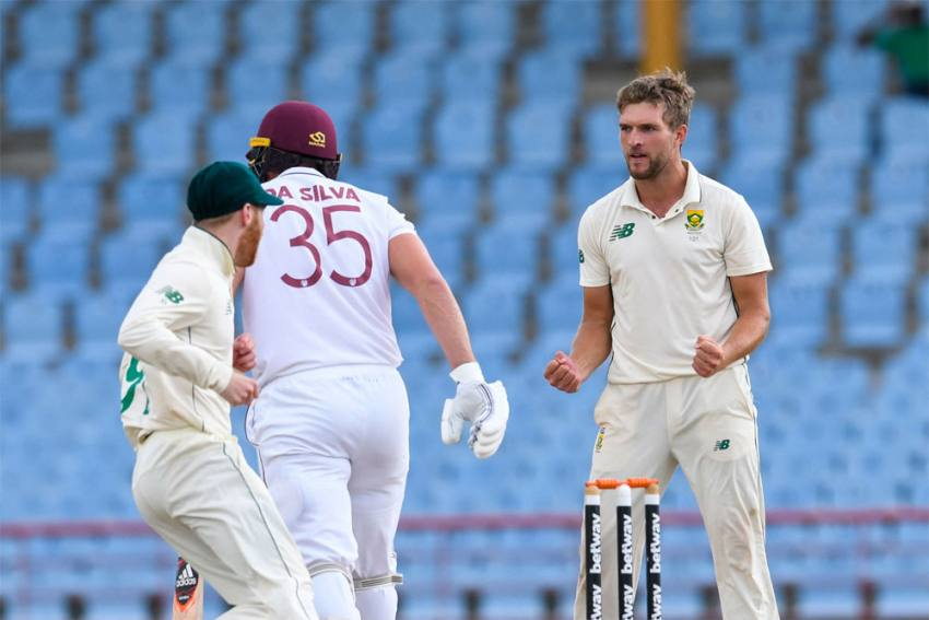 WI Vs SA, 2nd Test: South Africa Beat West Indies By 158 Runs, Sweep Series 2-0 - Highlights