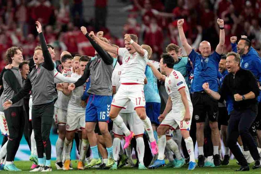 Euro 2020: Denmark Beats Russia 4-1, Qualify For Last 16
