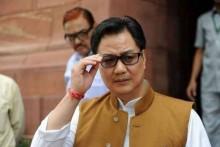 Tokyo Olympics: Sports Minister Kiren Rijiju Says Additional COVID-19 Restrictions On India Athletes Is 'Discrimination'