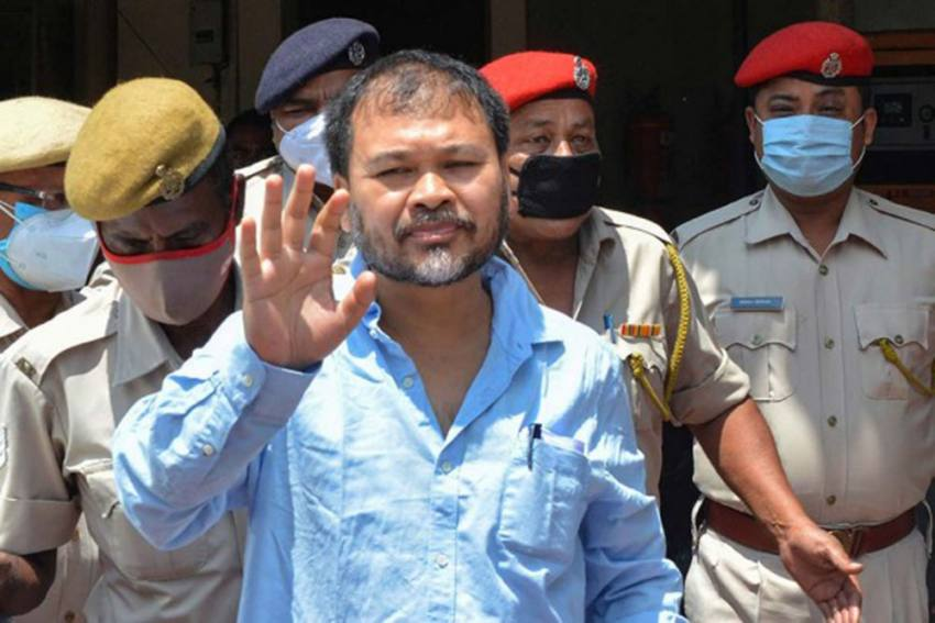 Anti-CAA Violence: NIA Court Clears Akhil Gogoi Of Charges In One Case