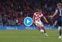 Luka Modric's Wonder Strike Knocks Scotland Out Of Euro 2020 – Watch Video Here