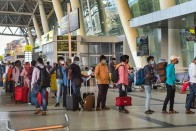 Man Walks On Baggage Belt After He Is Denied To Fly Without RT-PCR Report