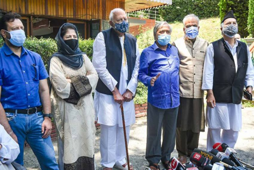 PM Modi's J&K Outreach: Most Invited Leaders Arrive In Delhi For Meet