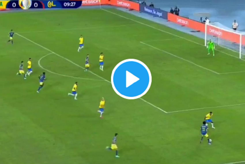 Luis Diaz Gives Colombia Lead Against Brazil With Bicycle Kick In Copa America – Watch Video Here