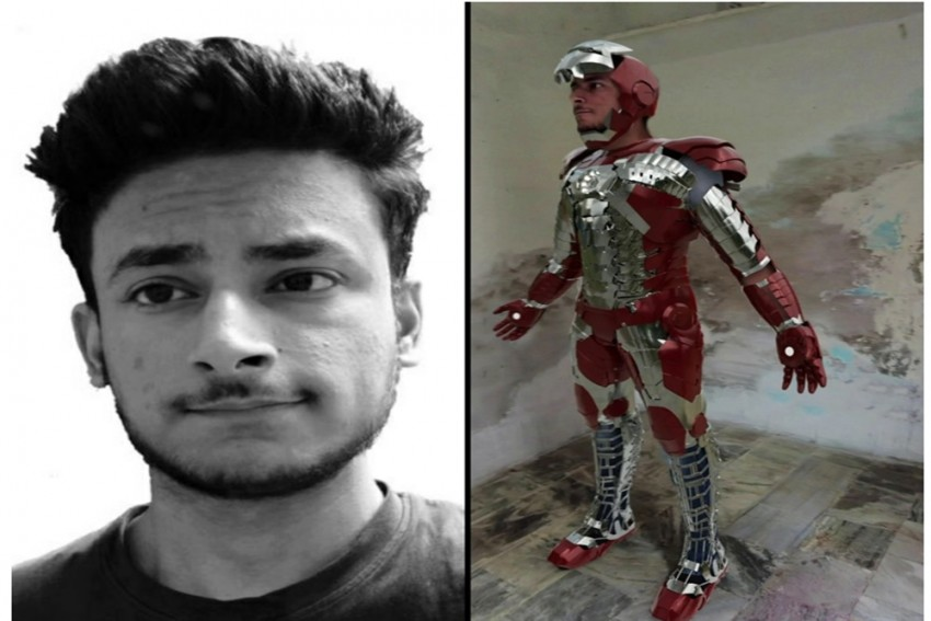 Young Indian Youtuber Lokesh Khatri Made One Of The Best Mark 5 Suit Across YouTube Web
