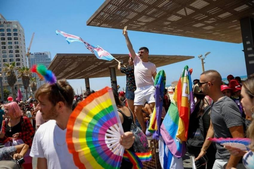 Thousands Of People Attend Pride Parade In Tel Aviv Post Pandemic