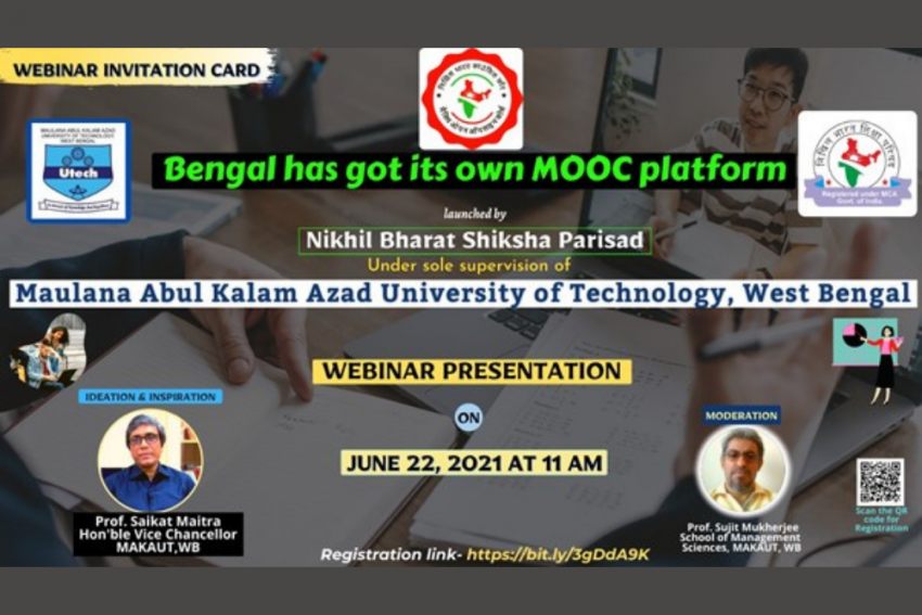 Bengal's Own MOOCS Platform Under Sole Supervision Of MAKAUT, WB