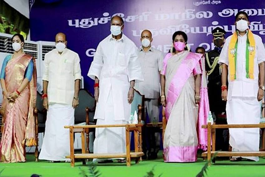 Puducherry Gets First Woman Minister In 41 Years As New NDA Cabinet Takes Oath