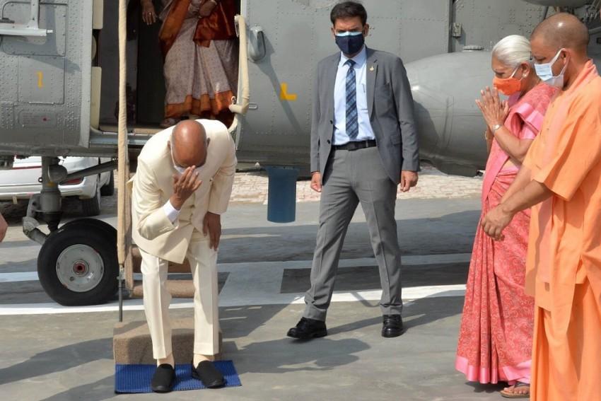'Never Imagined Village Boy Like Me Would...': President Kovind At Birthplace
