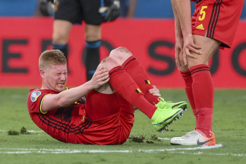 Euro 2020: Kevin De Bruyne, Eden Hazard Pick Up Injures As Belgium Advance