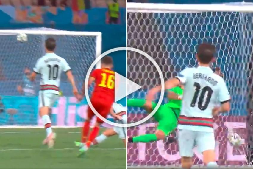 Euro 2020: Thorgan Hazard Wonder Goal Ends Portugal's Title Defence, Belgium Meet Italy In Quarters - WATCH