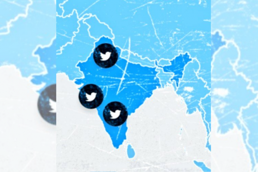 Twitter Website Displays Incomplete India Map, Shows J&K And Ladakh As Separate Country