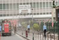 Watch: Minor Fire Breaks Out At AIIMS Hospital In Delhi, Fire Tenders Rushed To Spot