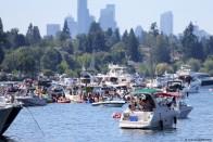 US: Heat Wave Breaks Temperature Records In Seattle, Portland