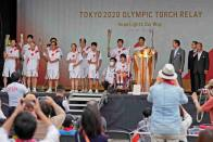 Olympic Torch Relay Stages To Be Pulled Off Tokyo Roads