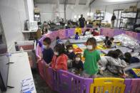 US Sees 40% Fall In Migrant Kids At Largest Shelter Since Biden