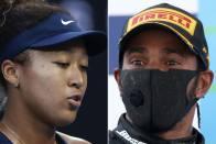 F1 Champion Lewis Hamilton Backs Tennis Star Naomi Osaka In French Open Row