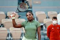 French Open: Serena Williams Pleased With 'Pretty Good' Serve Against Mihaela Buzarnescu