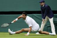 Wimbledon 2021: More Slipping And Sliding As Novak Djokovic Wins