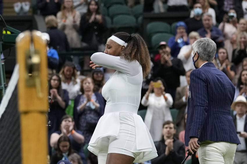 Wimbledon 2021: Tearful Serena Williams Retires After First-round Injury